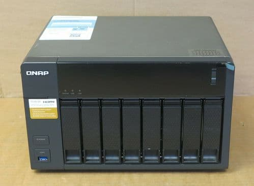 QNAP TS-853A 8-Bay 28TB HDD QTS-Linux Combo Network Attached Storage